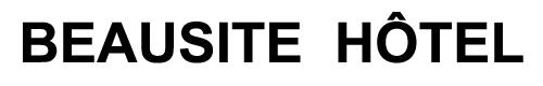 Beausite Hôtel Logo